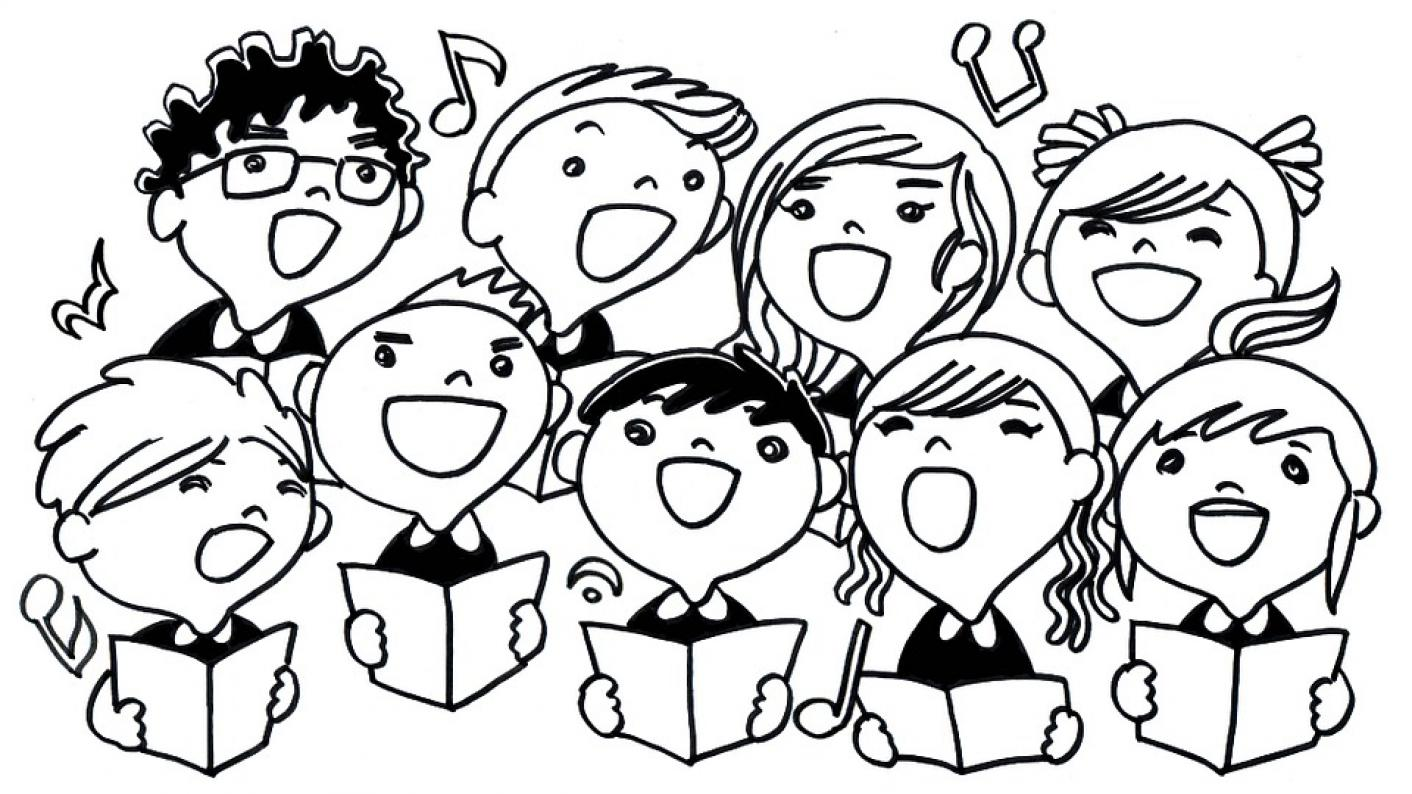 Singing in assembly, singing in schools