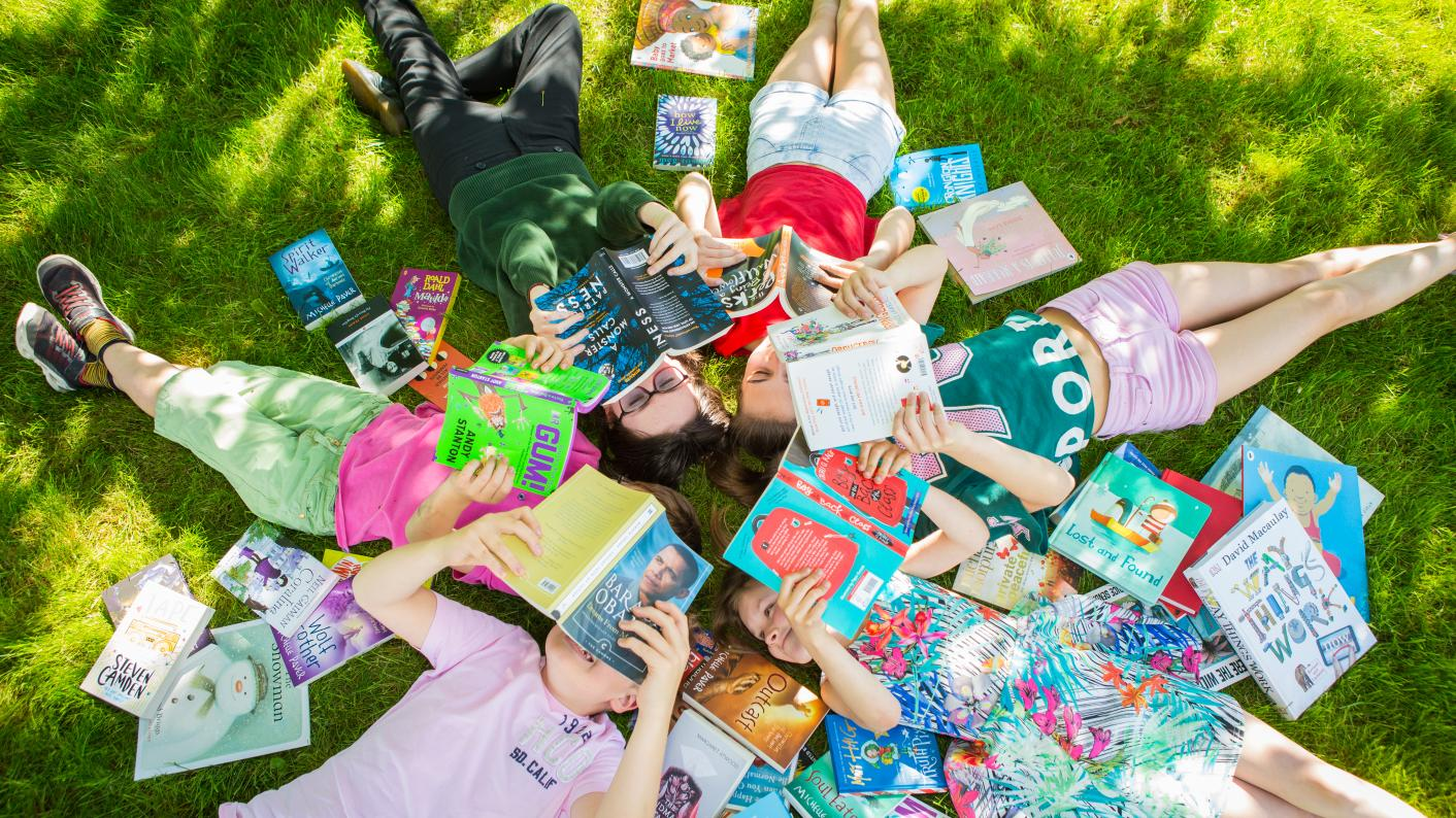 Reluctant readers: Tes and Hay Festival have teamed up to select 64 books to inspire unwilling readers