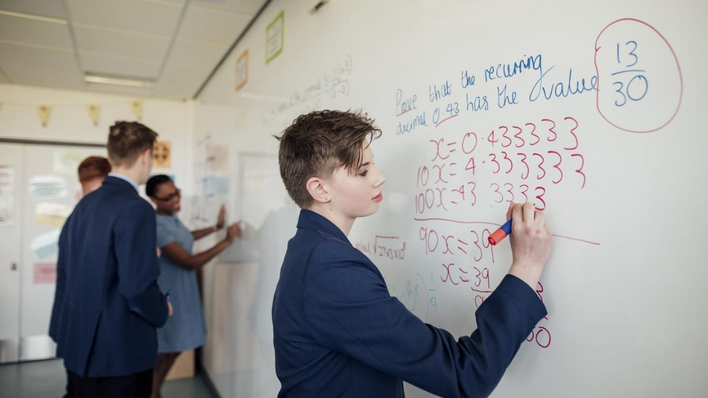 Two new specialist maths schools are to be launched