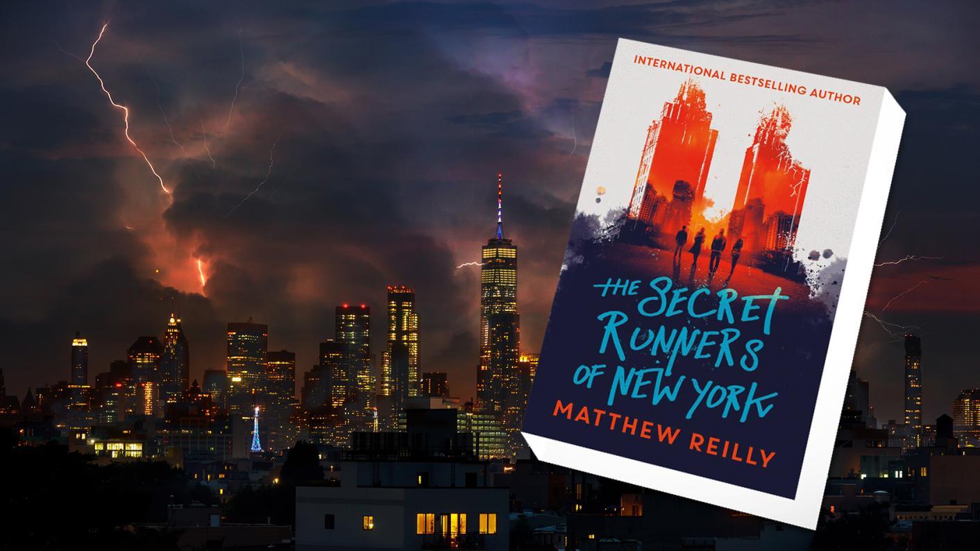 Tes class book review: The Secret Runners of New York by Matthew Reilly