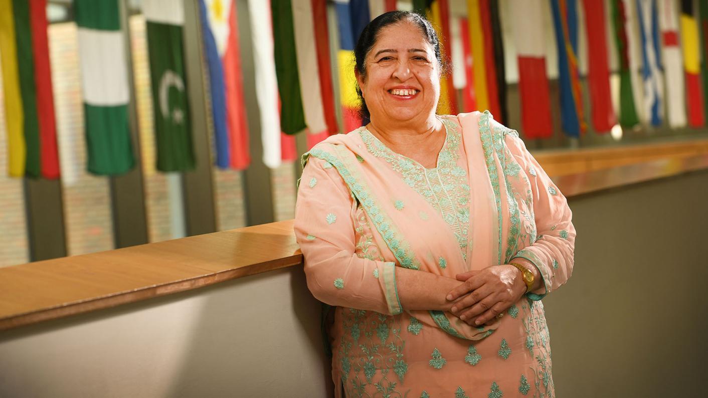 Bushra Nasir, CEO of Drapers' multi-academy trust.