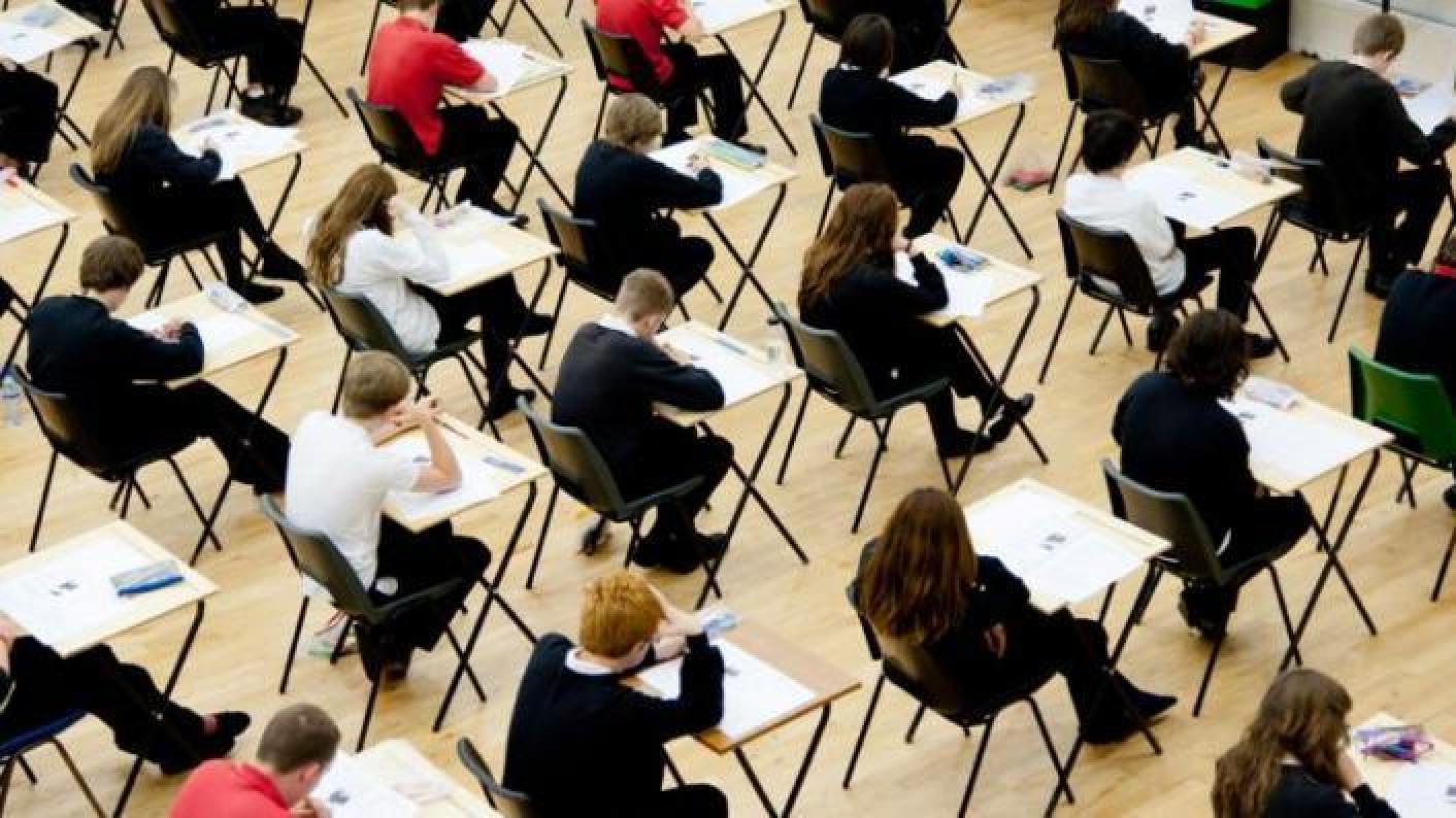 GCSE A level exam stress Childline