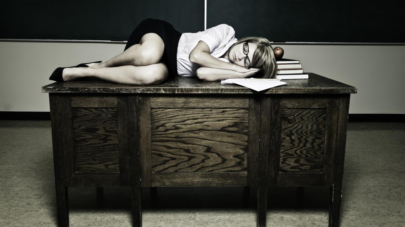 A good night's sleep isn't just important for exam students – it's vital for teachers, too, writes Tom Starkey