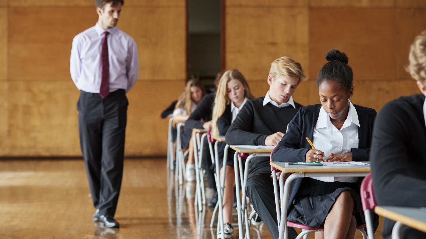 GCSE and A-level exam invigilator