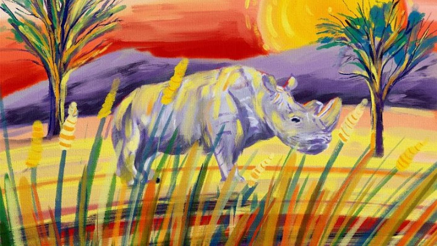 John Dyer's Last Chance to Paint project aims to raise awareness about environmental issues among primary school pupils