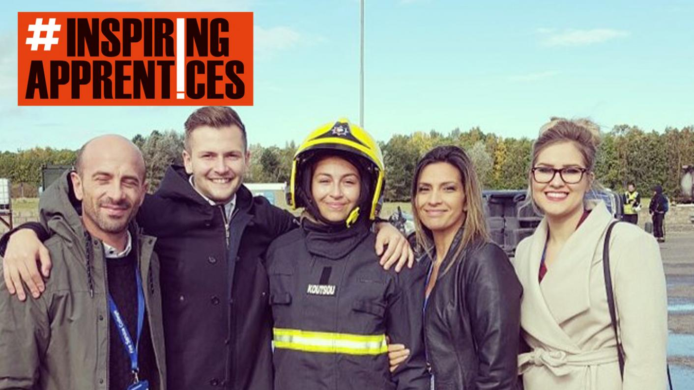 Chantelle Koutsou had always dreamt of becoming a firefighter, and made that a reality with an apprenticeship