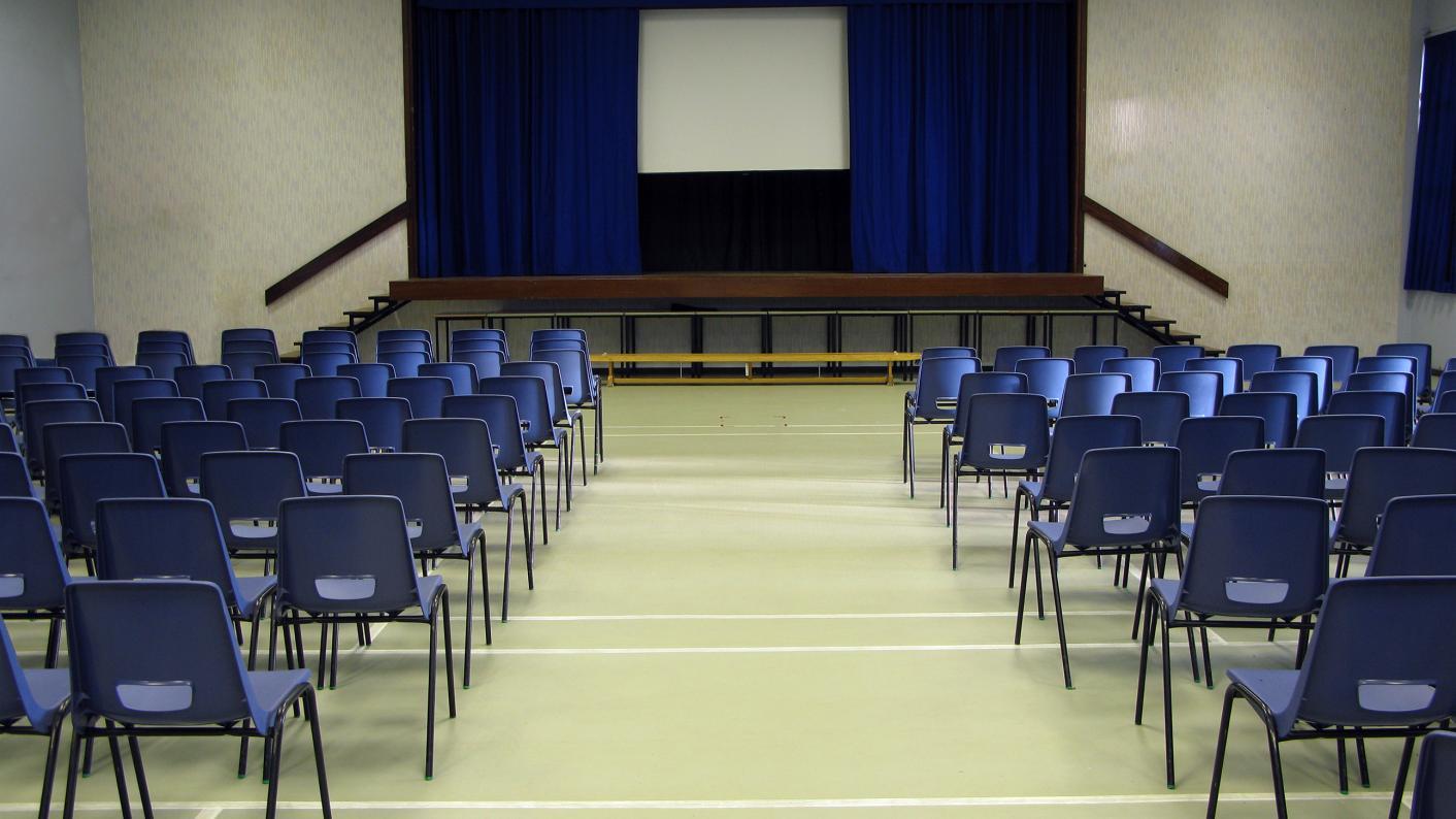 School assembly, assemblies, whole-school assemblies, secondary assemblies