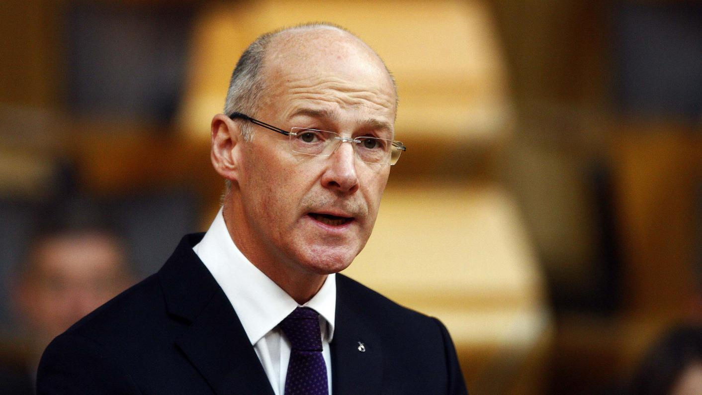 John Swinney responds to review endorsing national testing of five-year-olds