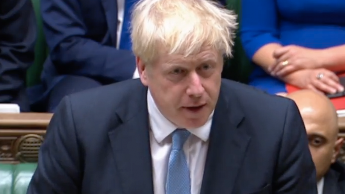 Boris Johnson was asked about school funding during his first Commons appearance since being appointed prime minister.