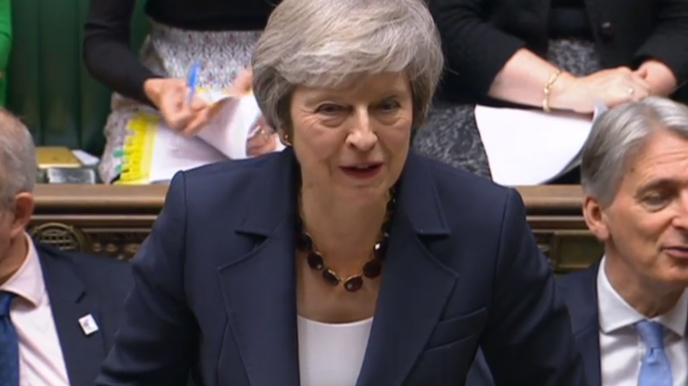Theresa May told the House of Commons she wanted to see an increase in funding for FE colleges and sixth forms