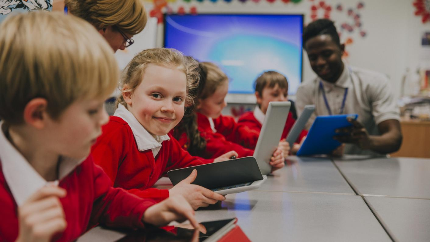 technology being used in the classroom
