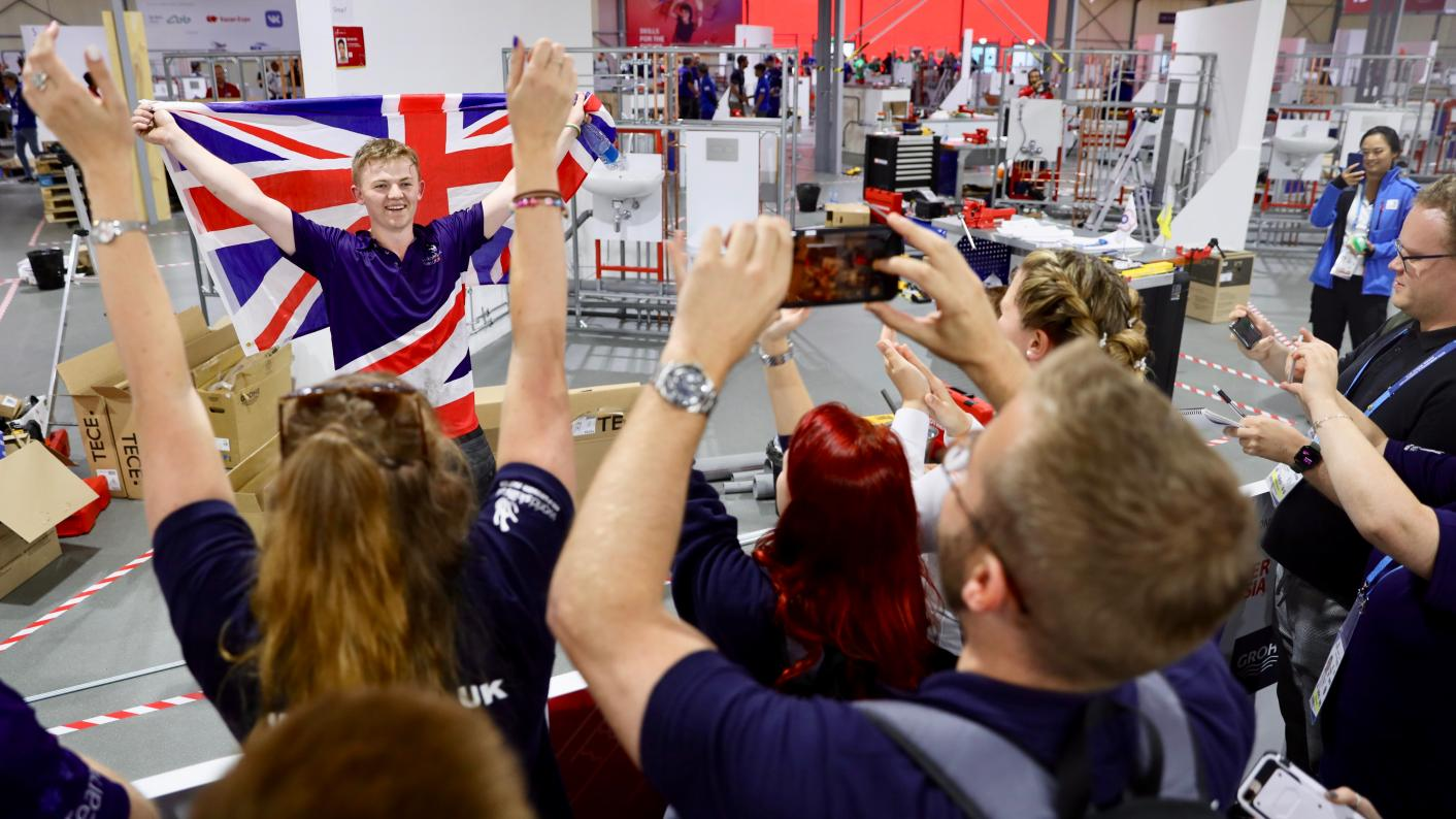 WorldSkills Kazan: Team UK finish to crowds of supporters