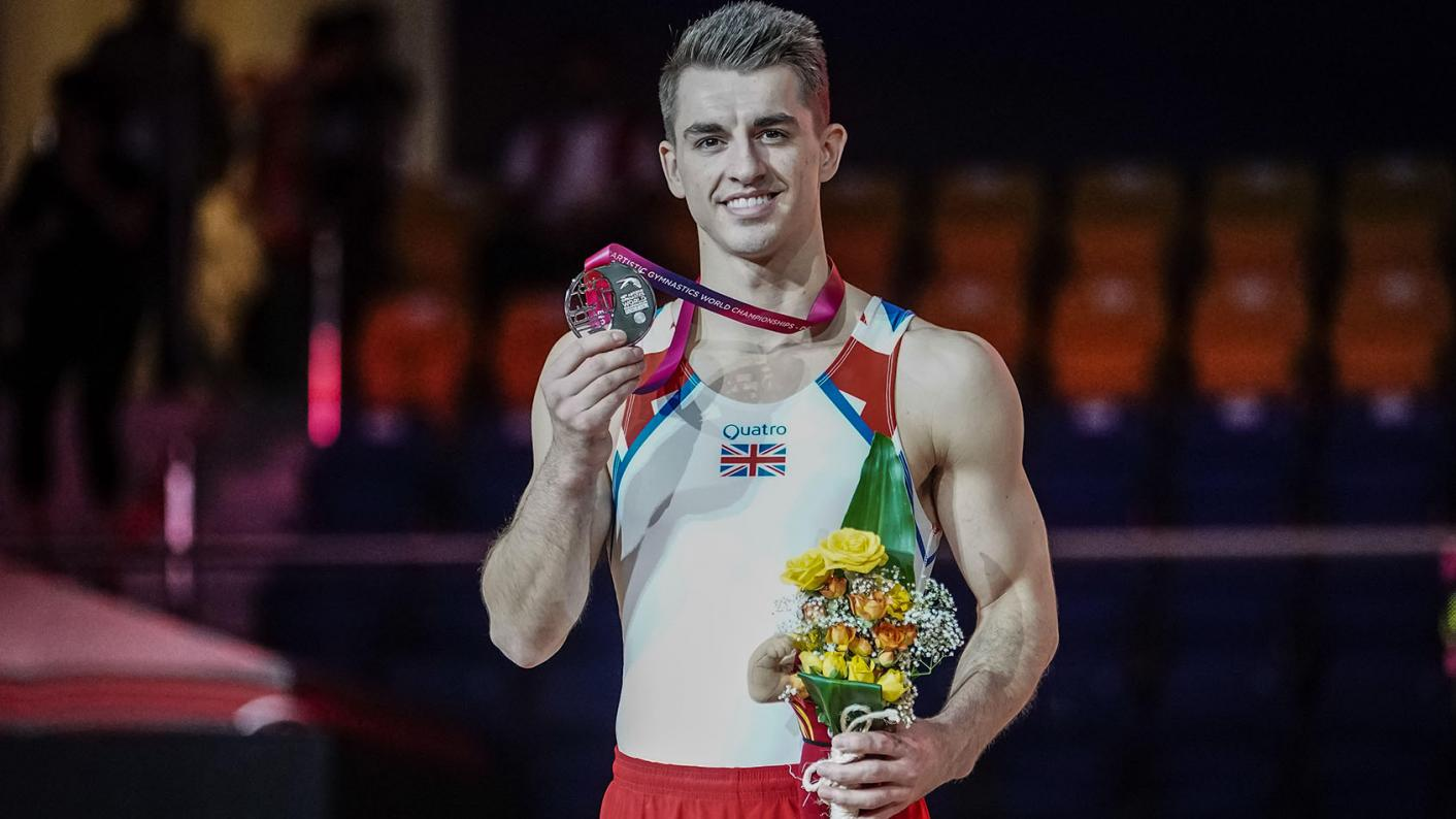 Max Whitlock says his BTECs set him on the path to the Olympics