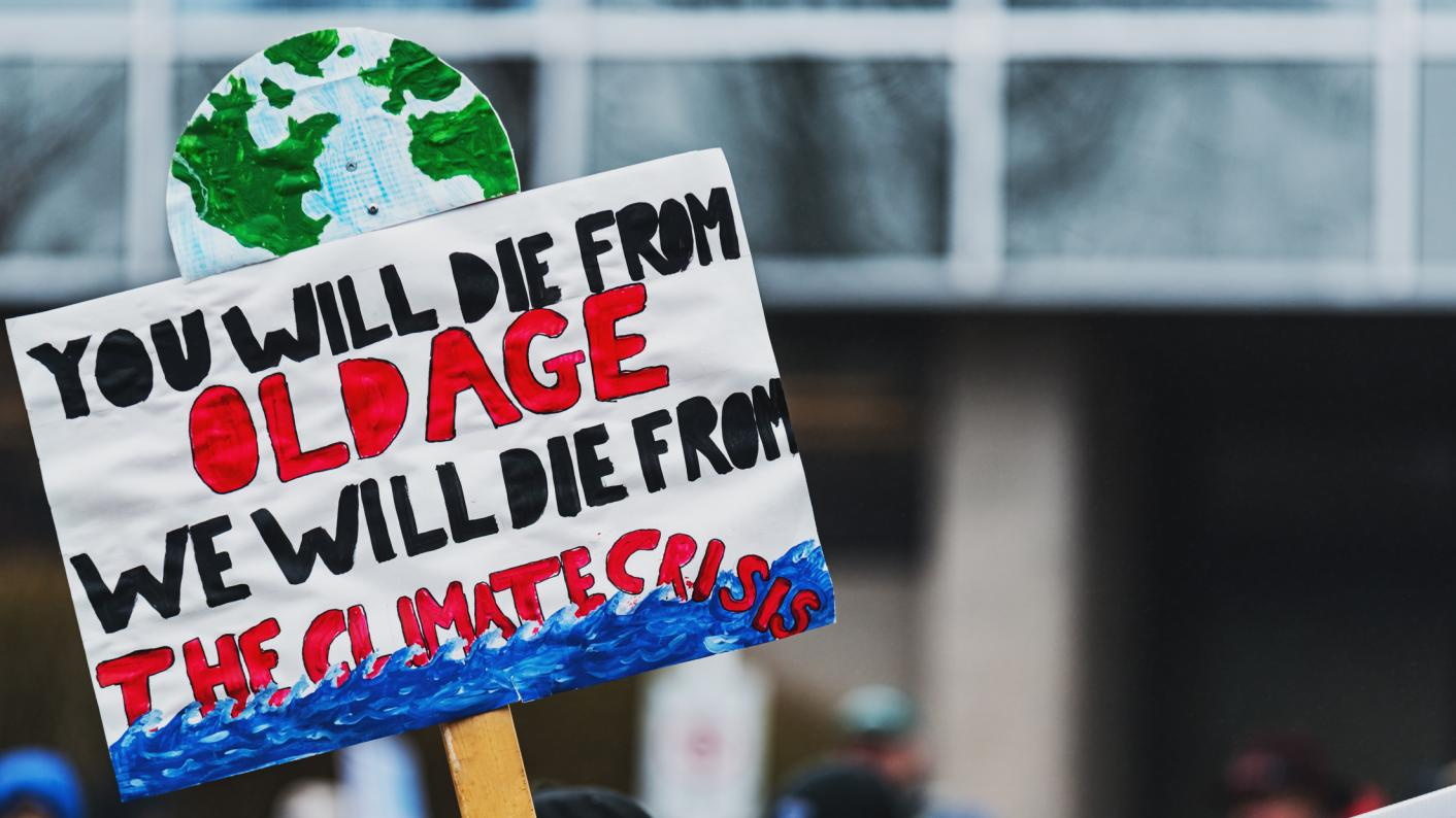 Climate activists told they can only strike once a year