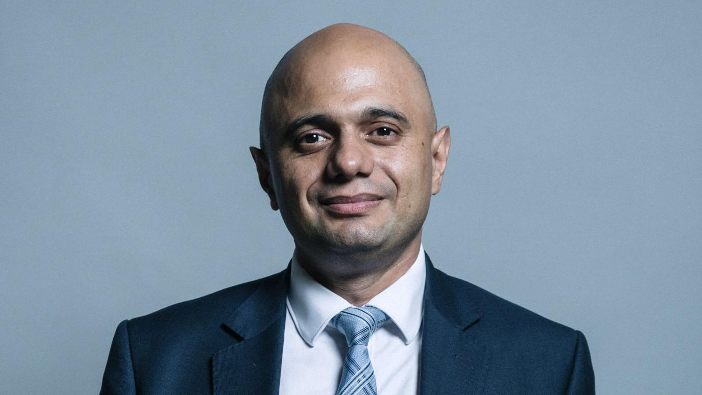 Chancellor Sajid Javid, who himself went to an FE college, has announced extra 16-18 funding