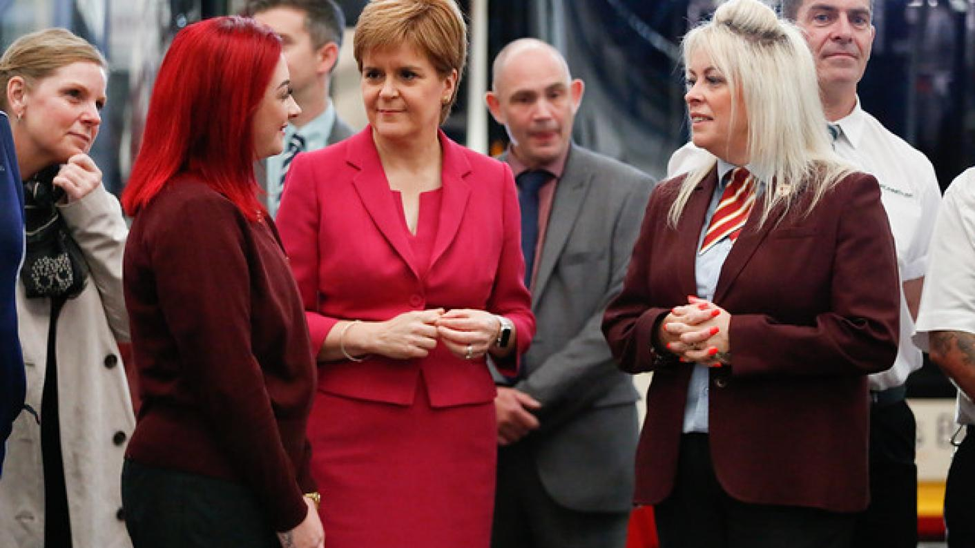 Scotland's first minister, Nicola Sturgeon, has pledged that extra cash to close the attainment gap will be available until at least March 2022