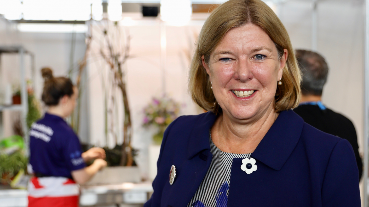 Marion Plant, North Warwickshire and South Leicestershire College principal