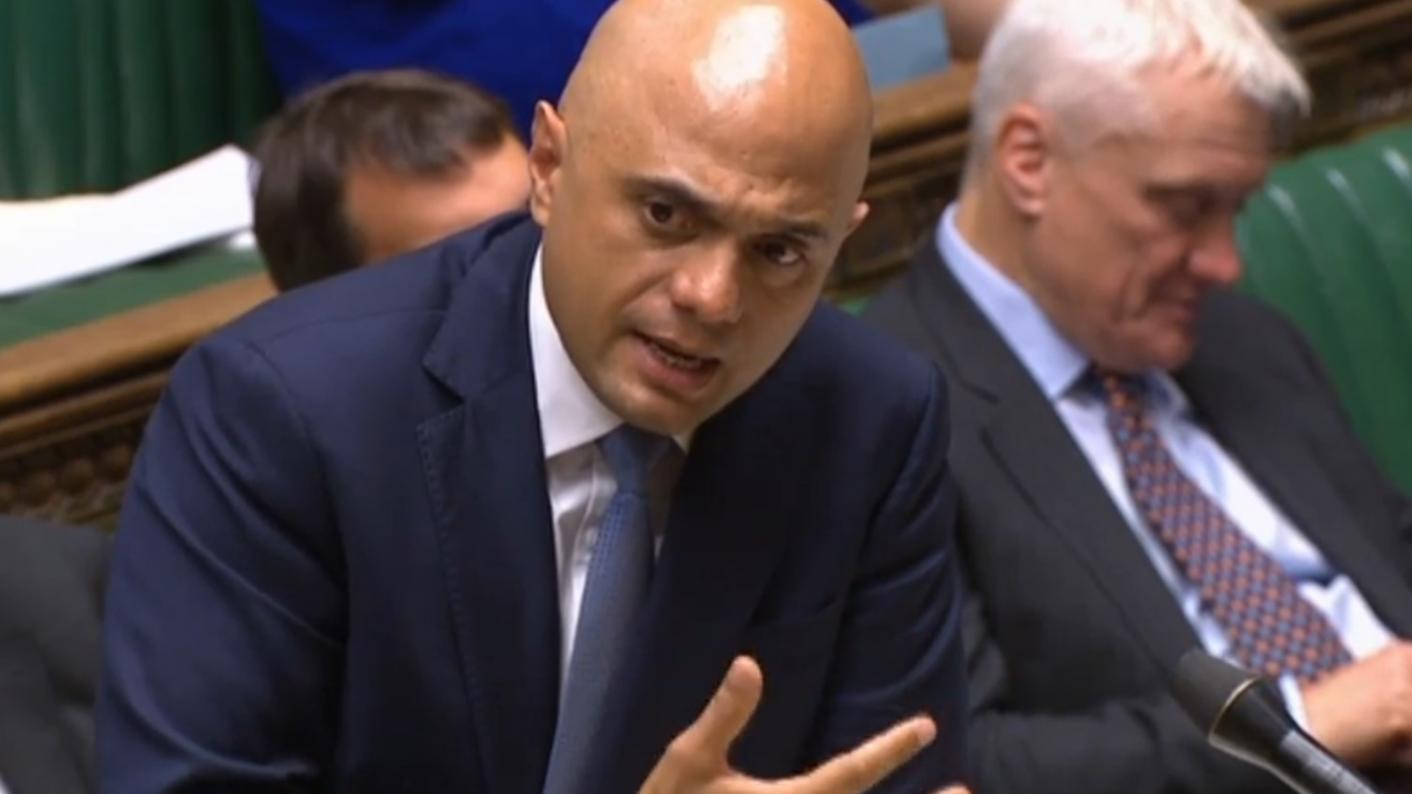 Chancellor Sajid Javid vows to 'start transforming further education'