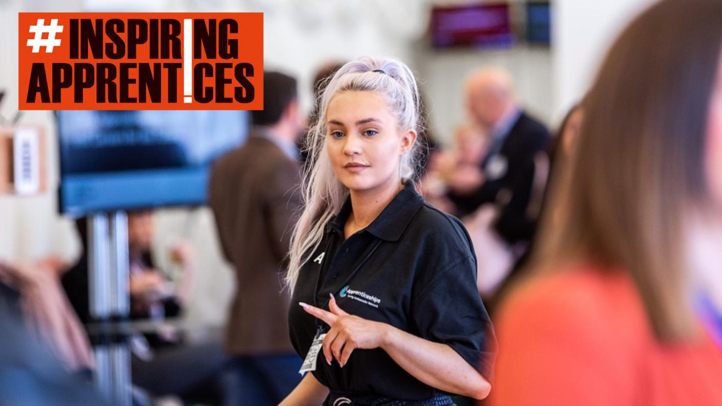 Apprenticeships: Aimee Rodgers says her work team are like her second family and her apprenticeship has pushed her to achieve life goals early
