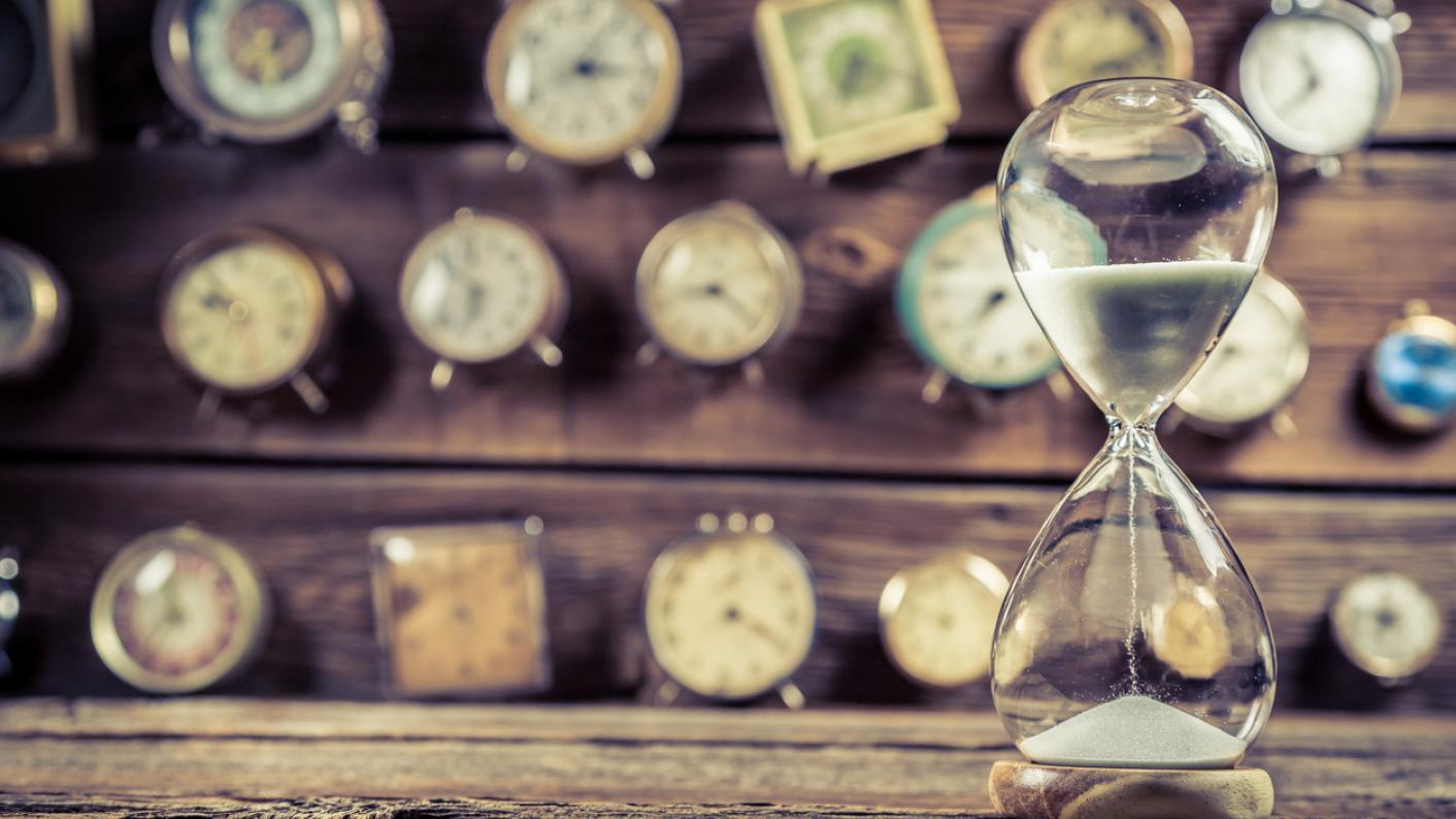 time teacher hacks hourglass counting down