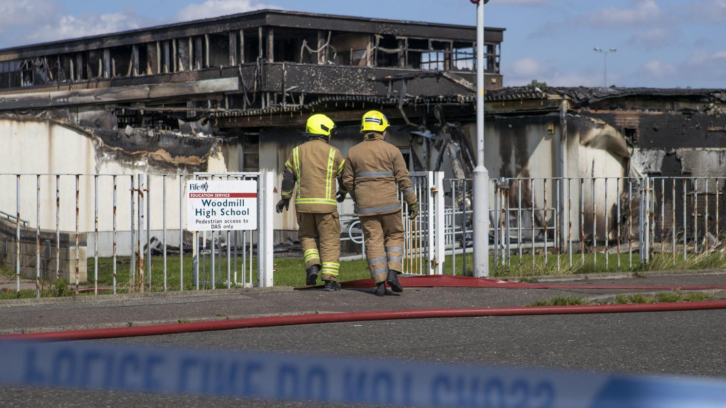 Funding confirmed to replace fire ravaged school