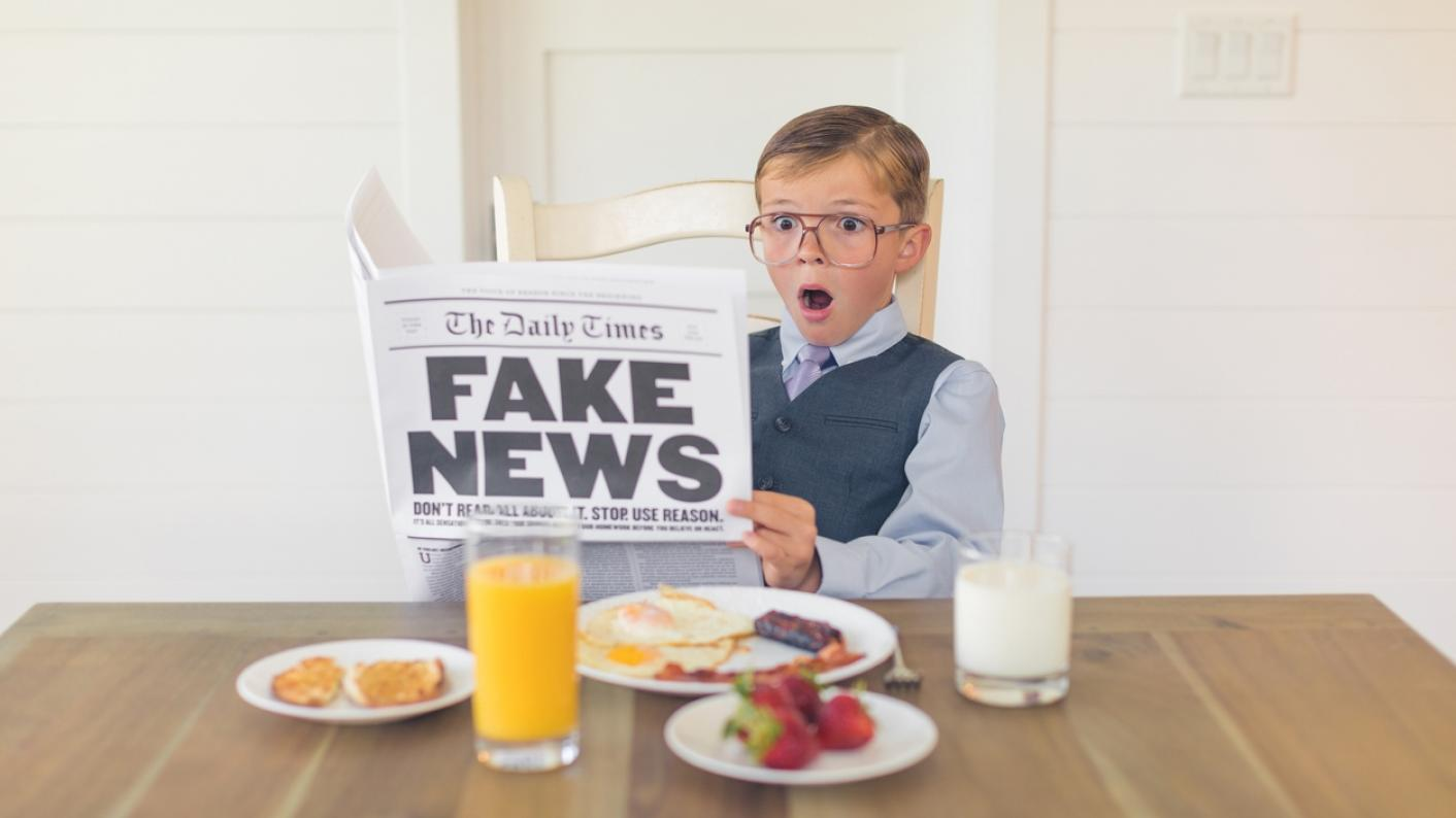 Teaching students to identify fake news should be part of the curriculum in schools and colleges, says Jonny Kay