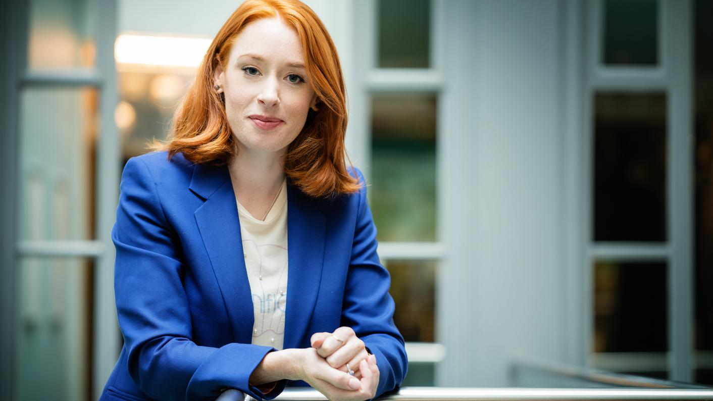 Maths champion: Hannah Fry, who has promoted the subject through TED talks, TV shows and books