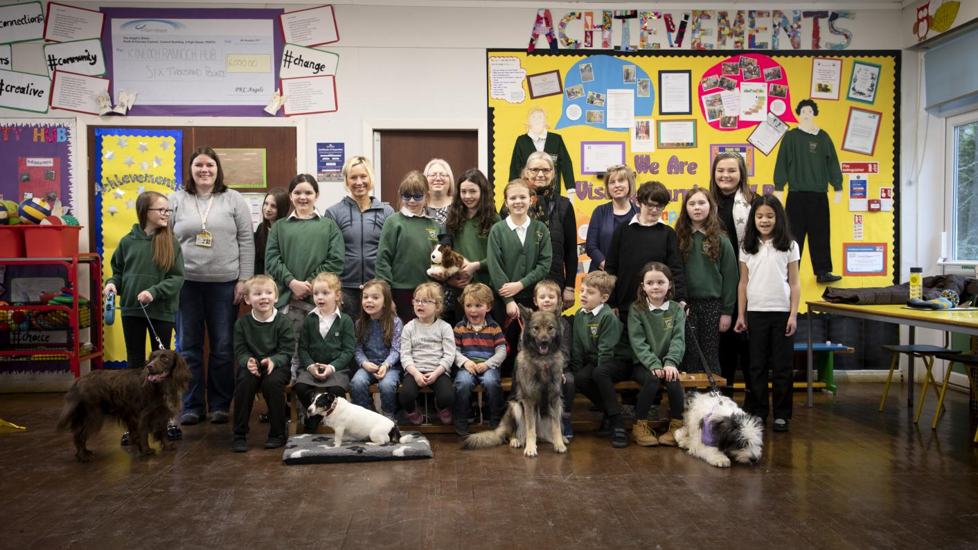 The school with one dog for every three pupils