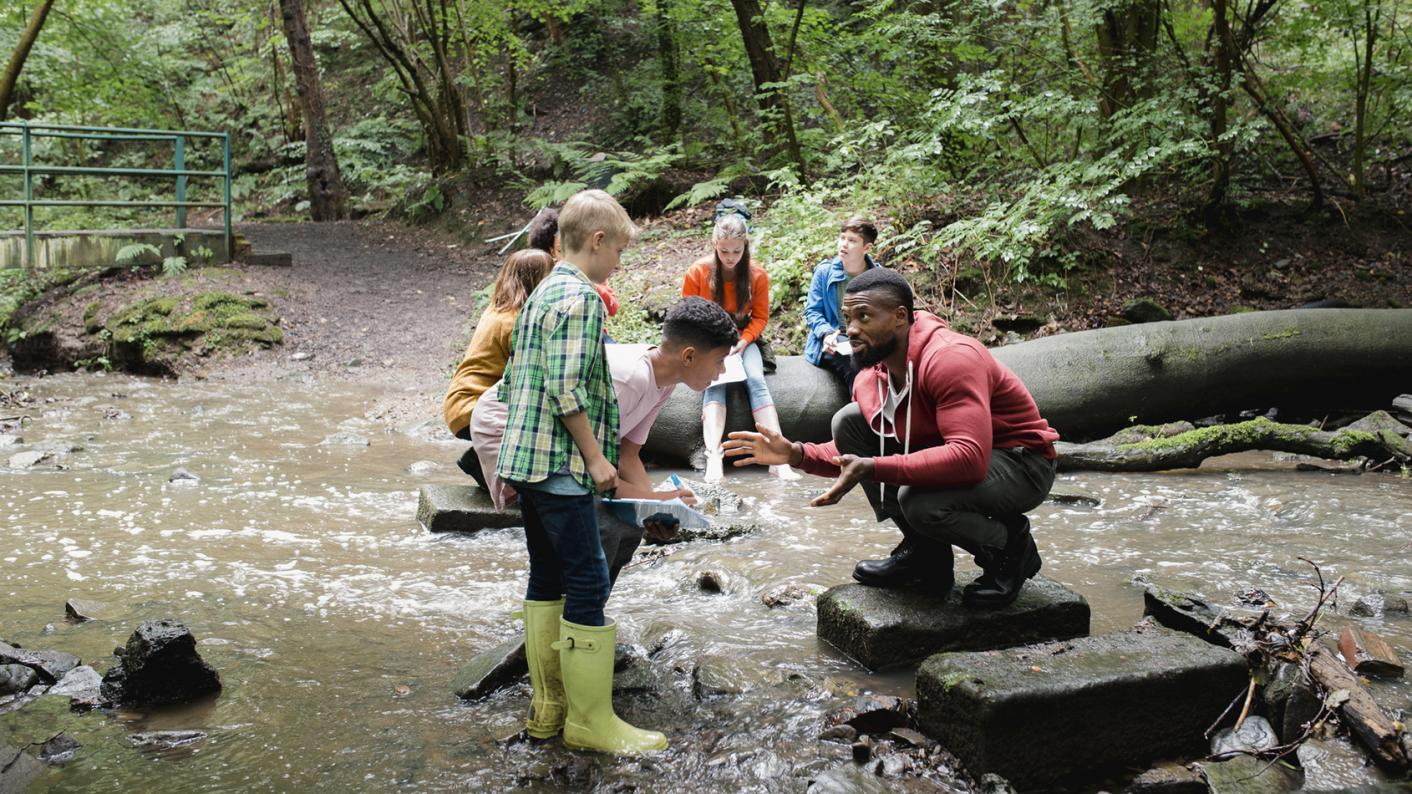 Outdoor learning offers huge benefits throughout primary school