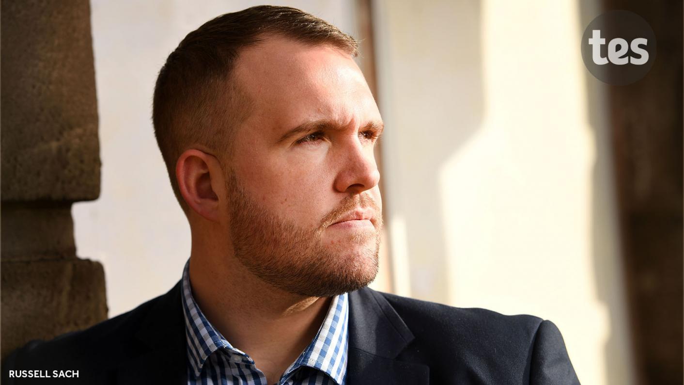 Teacher-turned-Conservative MP Jonathan Gullis