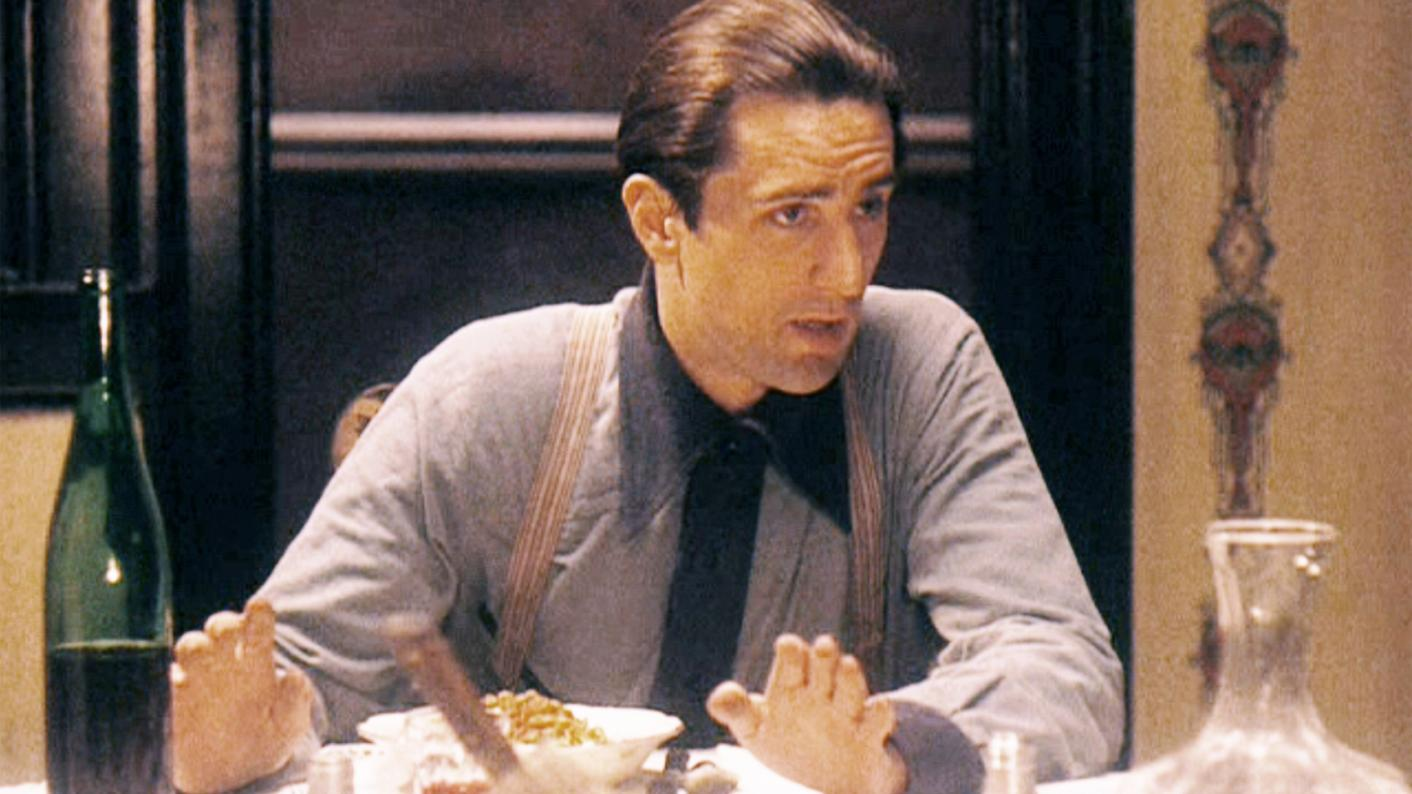 Still from the film The Godfather