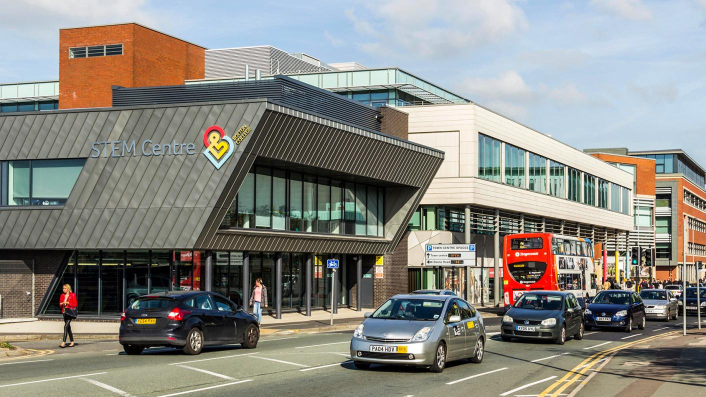 Bolton College: What happens when a college mergers with a university?