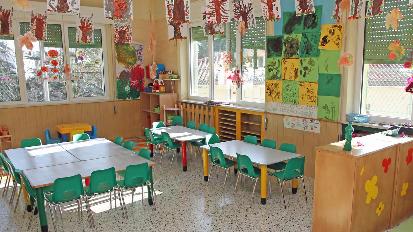 Busy classroom displays