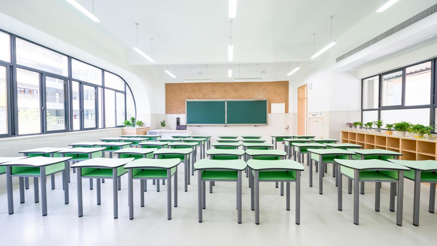 The cancelled GCSE exams mean Sarah Simons' son has now left school because of coronavirus