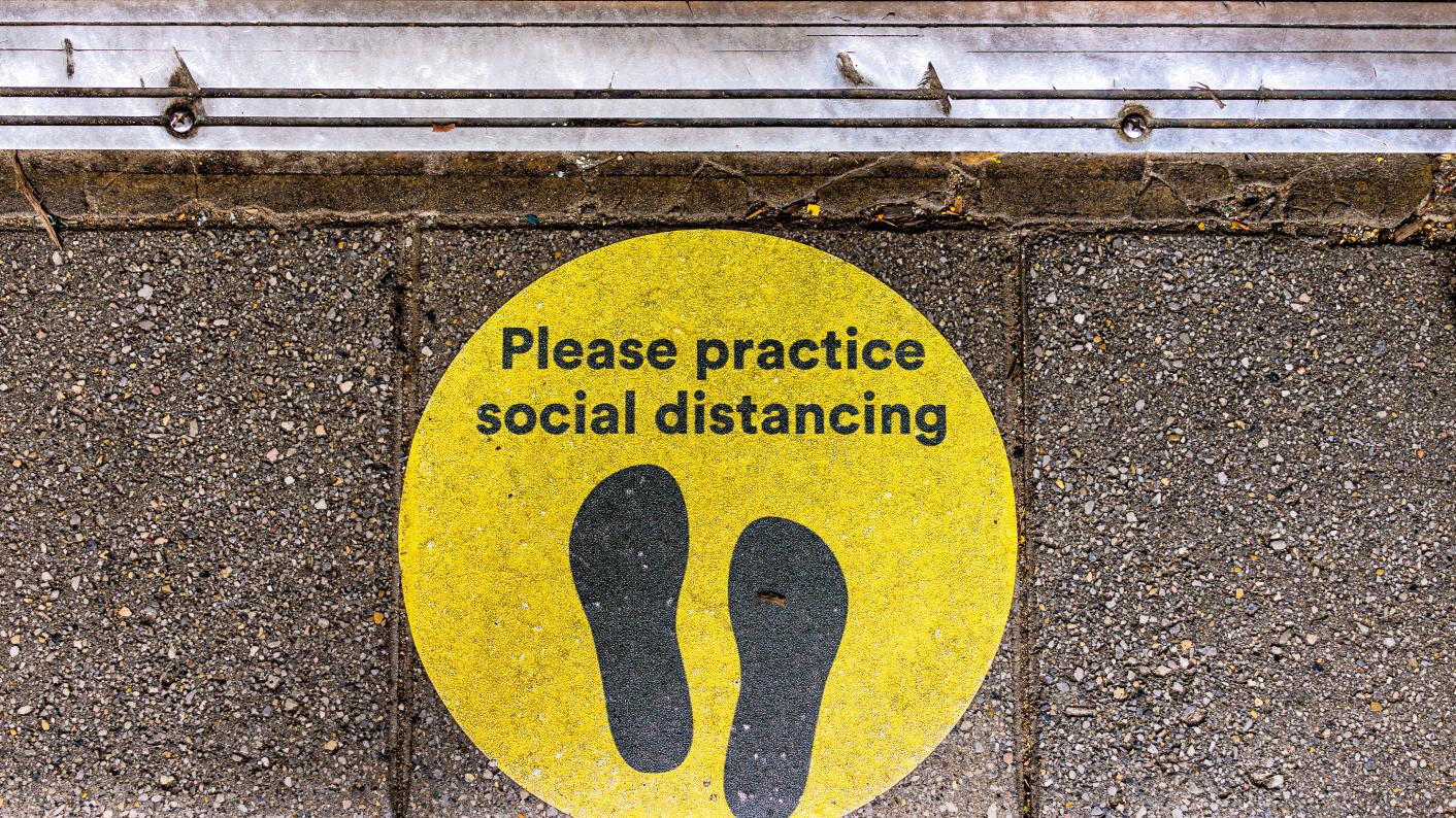 social distancing bubbles
