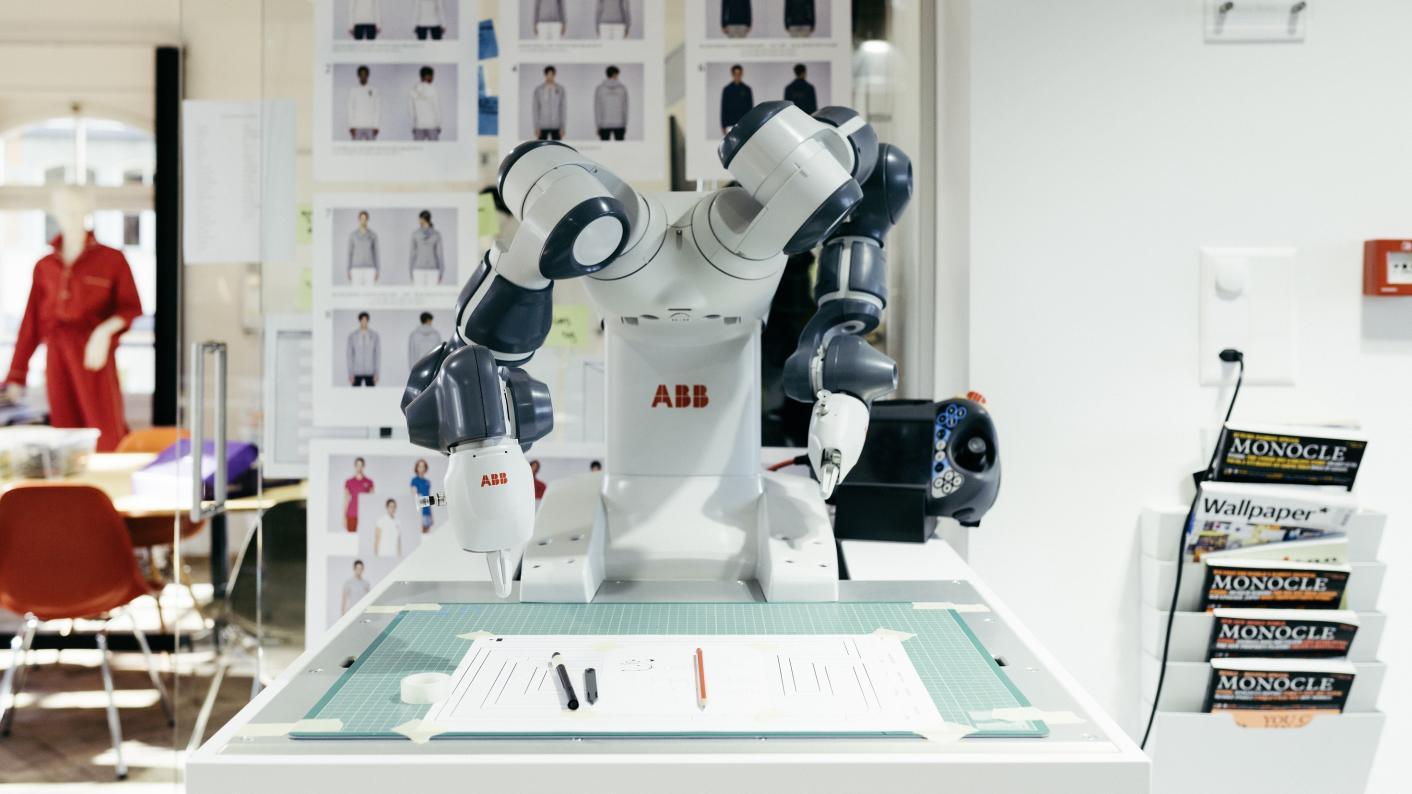 Rosie the robot at Rosenberg school in Switzerland
