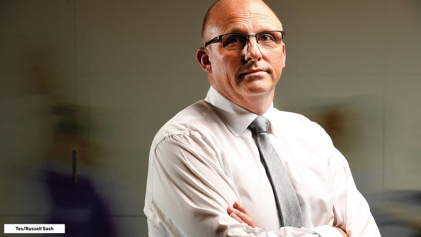 NAHT general secretary Paul Whiteman challenged Ofsted on whether its school visits this term were inspections