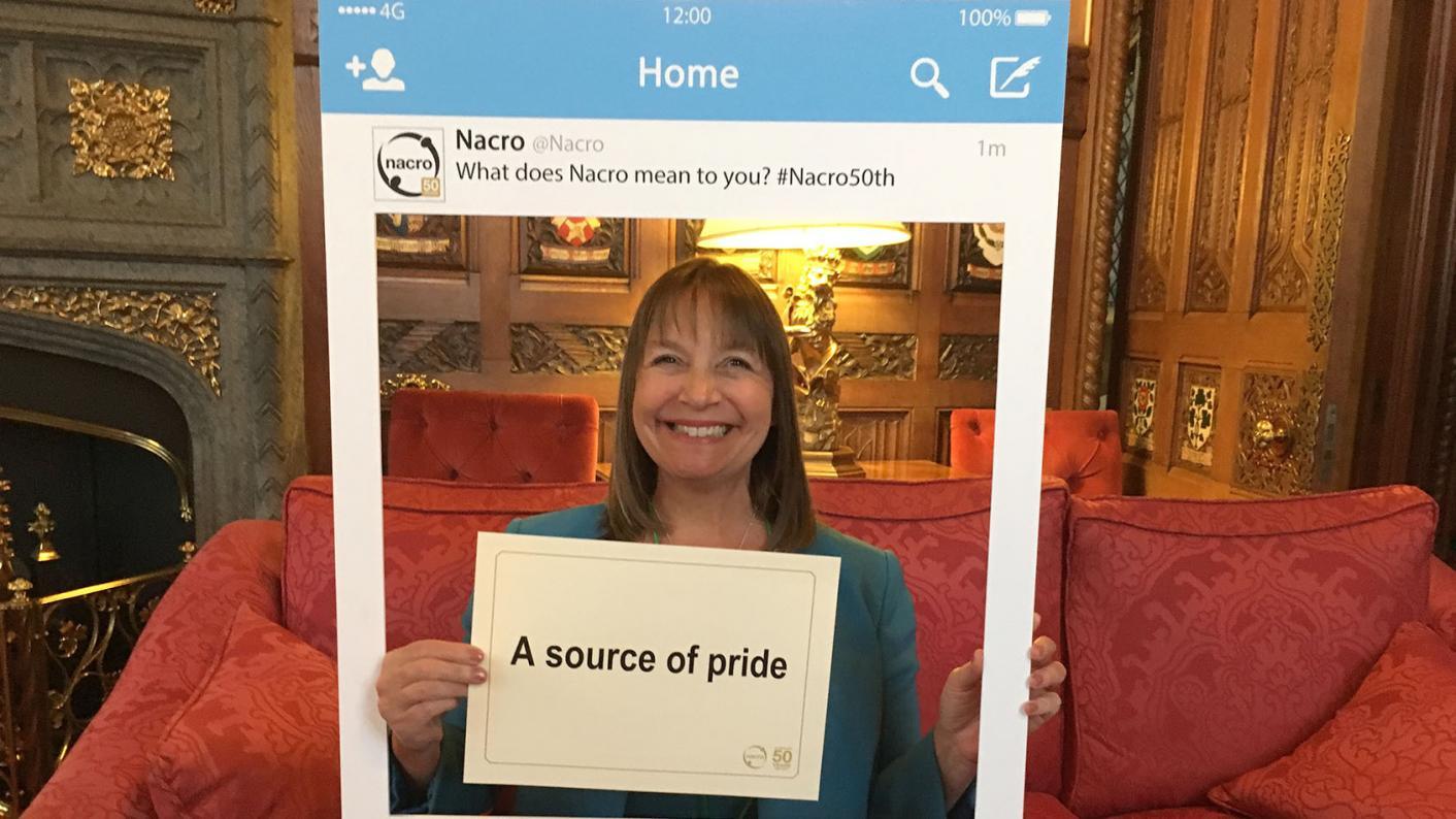 Lisa Capper: Nacro's head of education and skills