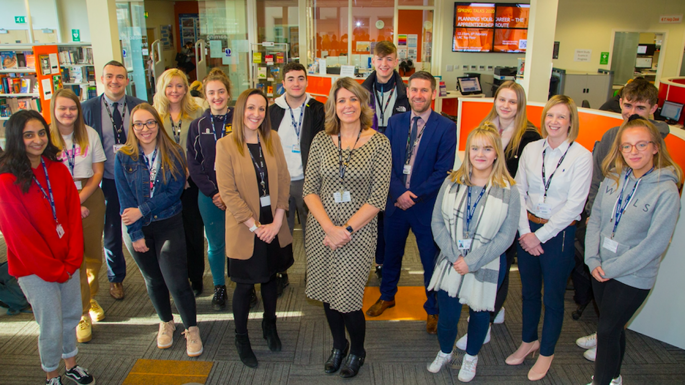 New College Pontefract wins at the Tes FE Awards 2020