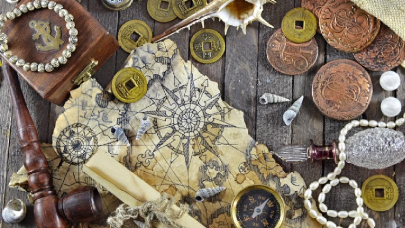 Treasure Chest Full Of Pirate-themed Teaching Resources