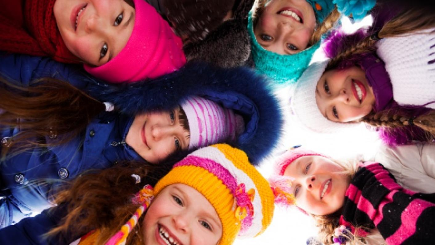 Images Of Children Wearing Coats, Hats & Scarves As Part Of The EYFS & Primary Winter Collection Of Teaching Resources