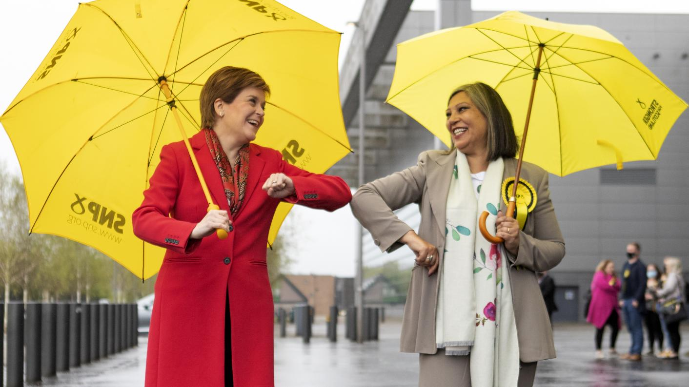 Teacher is first woman of colour elected as an MSP (Copyright holder: PA WIRE Copyright notice: PA Wire/PA Images Picture by: Jane Barlow)