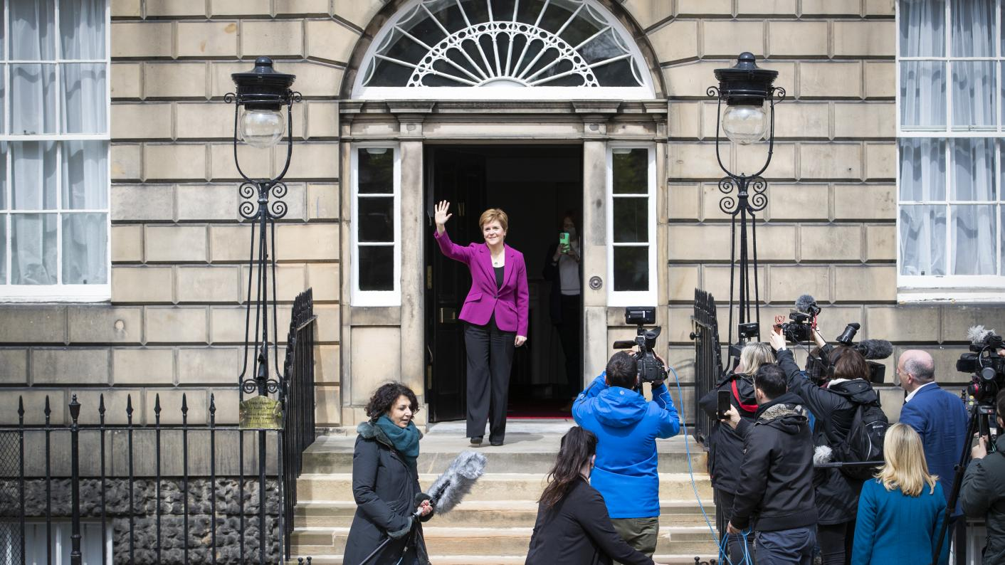 WATCH: Sturgeon insists teachers' judgement is key (Copyright holder: PA WIRE Copyright notice: PA Wire/PA Images Picture by: Jane Barlow)