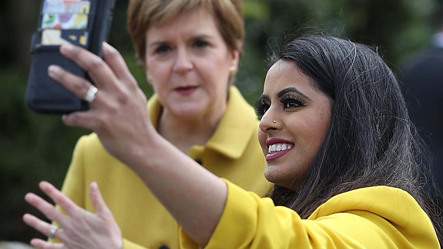 Modern studies teacher Anum Qaisar-Javed, pictured with Scottish first minister Nicola Sturgeon, has been elected as an MP and wants to inspire minority groups