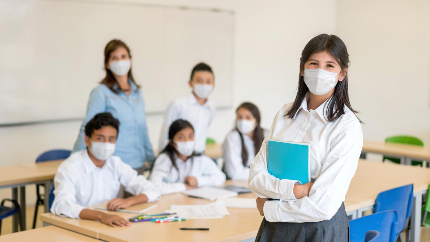 Headteachers have warnd the DfE that schools are 'not out of the woods' on Covid, and questioned the decision to lift the requirement for students to wear face masks in secondary classrooms