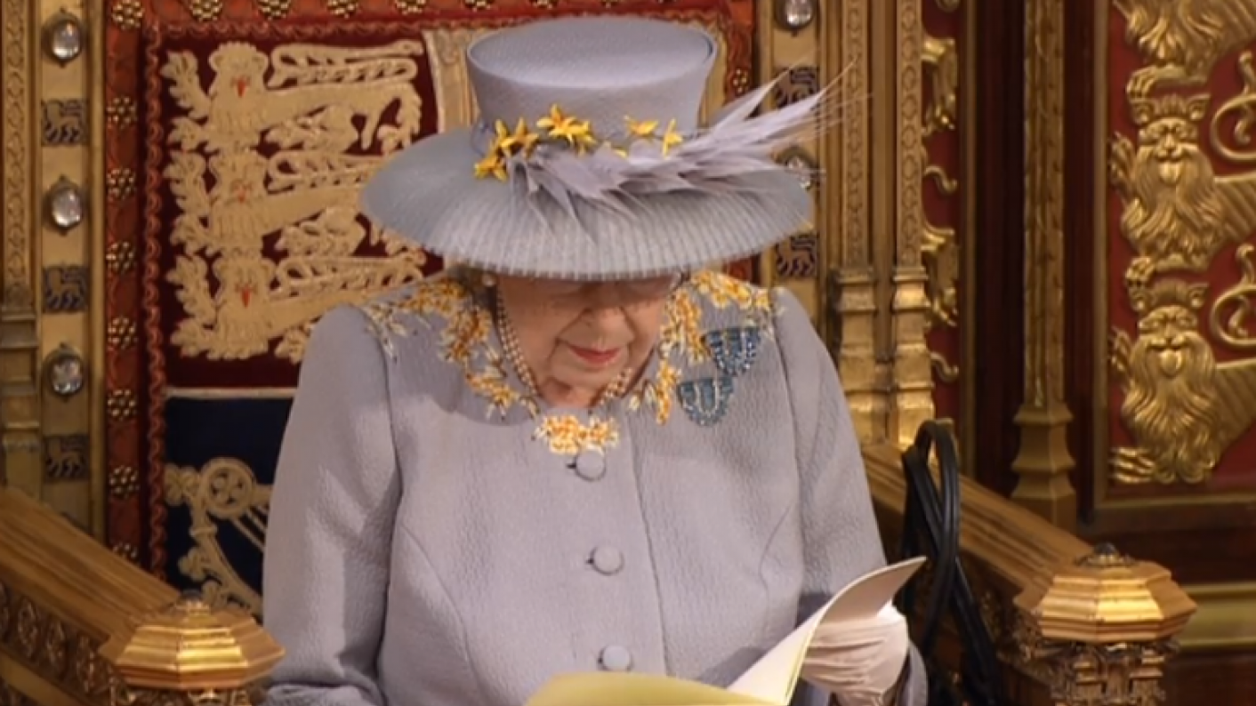 The Queen set out the government's legislative plans for the next year