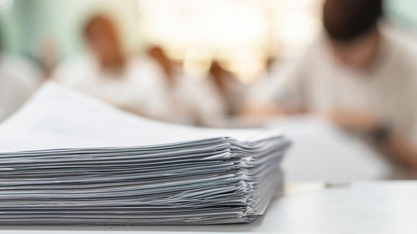GCSEs: A new report has shown how teacher assessed grades were awarded for last year's exams.
