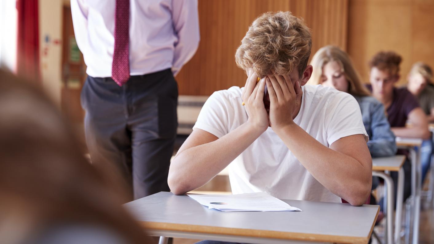 mental health and GCSE grades