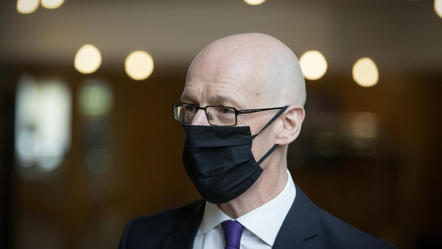 We want to avoid school closures 'at all costs' – Swinney (Copyright holder: PA WIRE Copyright notice:PA Wire/PA Images Picture by: Jane Barlow)
