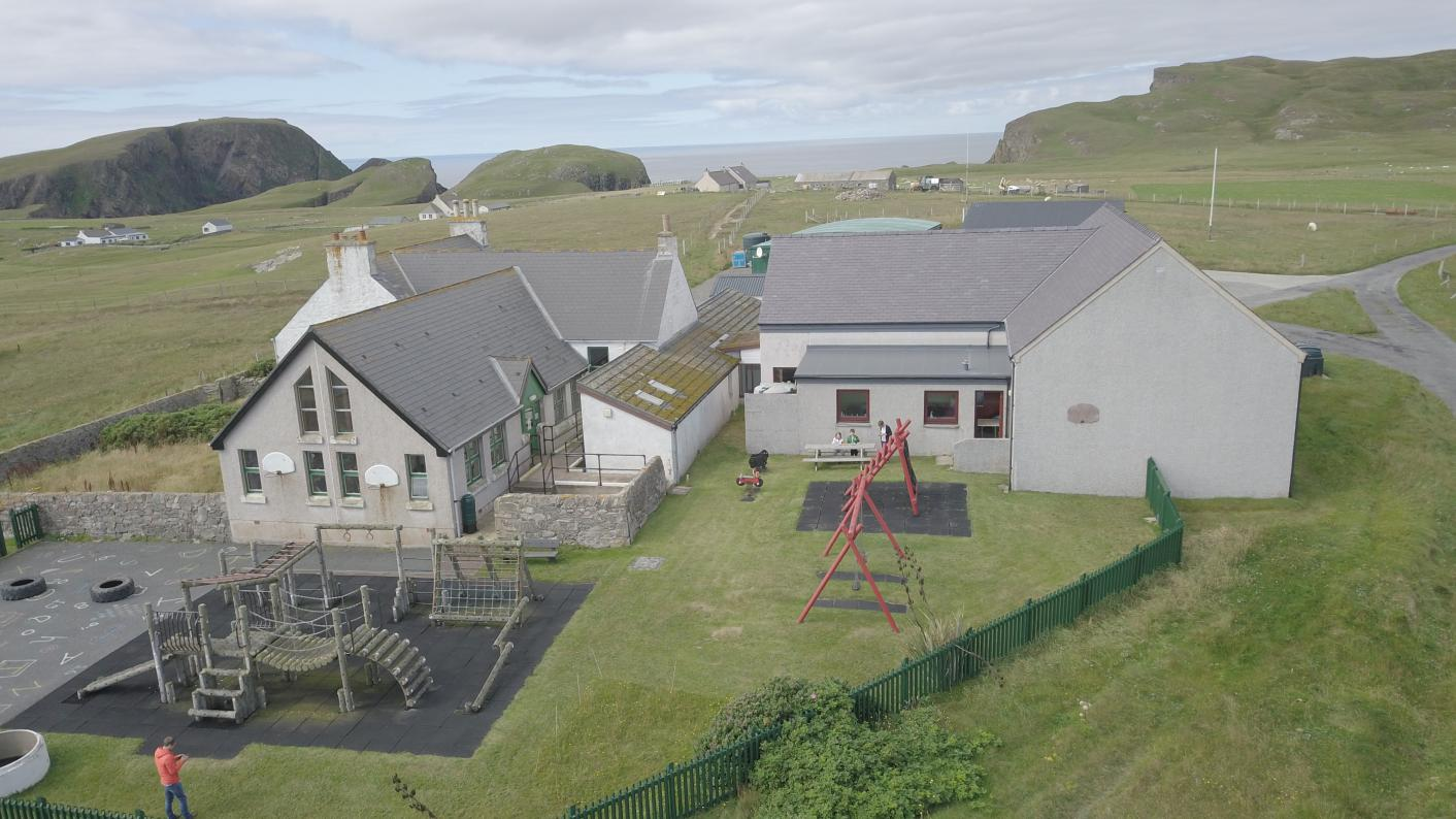 Teacher jobs: Could you be headteacher of the UK's most remote school - Fair Isle Primary?